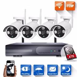 Bộ camera kit wifi 4 mắt- 720P