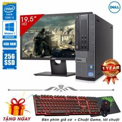 Máy tính đồng bộ Dell Core i5 2500, Ram 4GB, SSD 256GB
