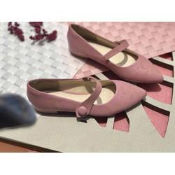 Giày chất liệu si cao cấp cắt lazer độc đáo