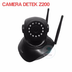 Camera IP Wifi Z200 DeTeK 2.0MP quay 360 độ