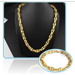Bộ trang sức nam Dây chuyền và vòng tay inox giá rẻ đẹp