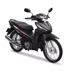 Xe số Honda Wave RSX Fi Vành nan hoa - Phanh cơ - Đen
