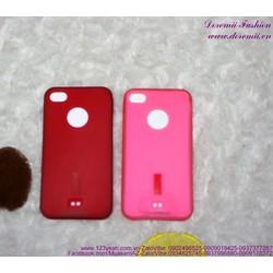 Ốp iphone 4 nhựa mềm Capdase bền đẹp