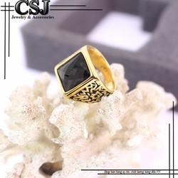 Nhẫn nam đẹp cao cấp giá tốt nhất HCM - mẫu N554