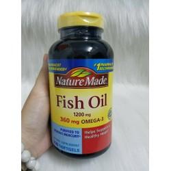 Viên uống dầu cá 1200mg sáng mắt hỗ trợ tim mạch