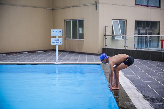 Khóa học Bơi cơ bản tại bể bơi cao cấp ngoài trời Thăng Long Number One 6