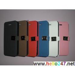 Bao da iphone 5 ngang chữ D sành điệu