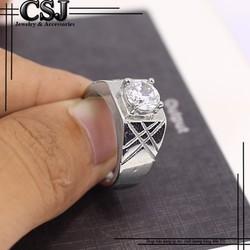 Nhẫn nam đẹp cao cấp giá rẻ nhất HCM - mẫu N525