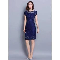 Đầm ren y hình