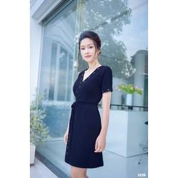 Đầm body tay ngắn thiết kế sành điệu 2039