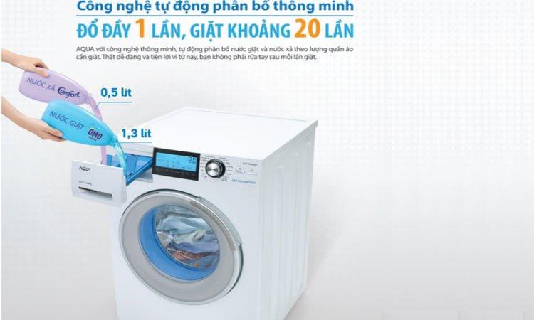 Lồng giặt được làm từ chất liệu cao cấp, bền bỉ, thân thiện