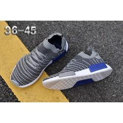 Giày nam nữ NMD Runner R1 nhẹ thoáng êm ôm chân gym chạy