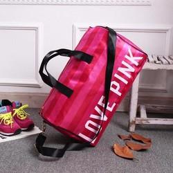 Túi xách thể thao - du lịch Love pink cao cấp LP01