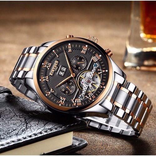Đồng hồ nam cơ automatic Kinyued chính hãng - 5568124 , 9380722 , 15_9380722 , 1970000 , Dong-ho-nam-co-automatic-Kinyued-chinh-hang-15_9380722 , sendo.vn , Đồng hồ nam cơ automatic Kinyued chính hãng