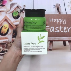 Kem Dưỡng Da Innisfree Green Tea Balancing Cream EX 2018