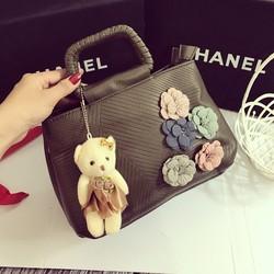 Túi xách hoa gấu hàng