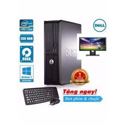Máy tính để bàn Dell 745 SFF Core 2 Duo 1.8Ghz, Ram 2GB, HDD 80GB