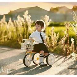 Xe đạp 3 bánh siêu nhẹ cho bé Udary UR-3B - kiểu dáng hàn Quốc