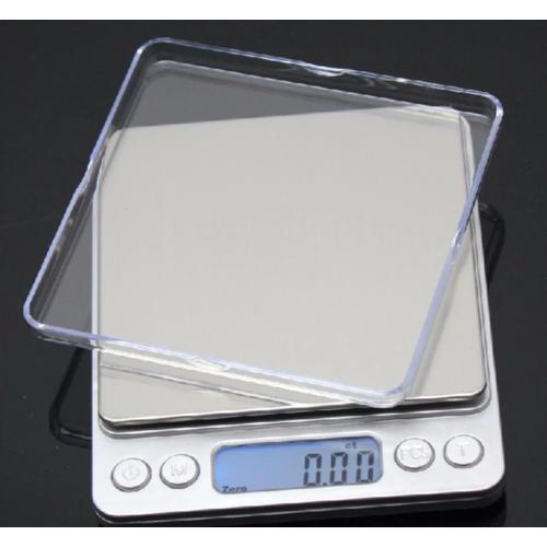Worldmart cân điện tử để bàn cao cấp 0.01g - 1kg nhôm độ chính xác cao