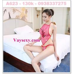 Váy Ngủ Yếm Voan Mịn