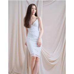 Đầm Ren Body 2 Dây