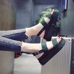 Giày Sandal đế xuồng chiến binh 2017