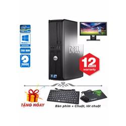 Máy tính để bàn Dell  780 SFF Core 2 Duo E8400, Ram 2GB, HDD 160GB