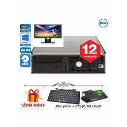 Máy vi tính để bàn Dell 380 Core 2 Duo E7500, Ram 2GB, HDD 80GB