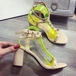 giay sandal got vuông đinh hàng VNXK -pll2818