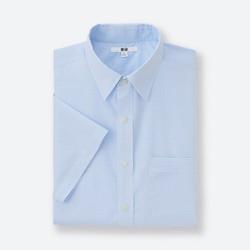 Áo sơ mi nam ngắn tay màu 61 Blue - Hàng nhập Nhật