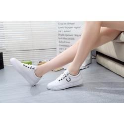 Giày thể thao nữ lá lúa đen