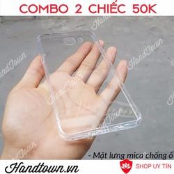 COMBO 2 Samsung C9 Pro Ốp Dẻo Trong Suốt Bền Đẹp Giá Tốt
