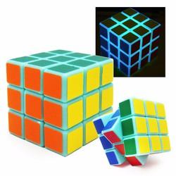 Rubik dạ quang phát sáng trong đêm