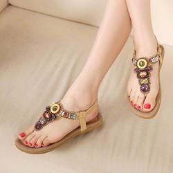 Giày Sandal thổ cẩm cao cấp - Hàng Nhập Loại 1