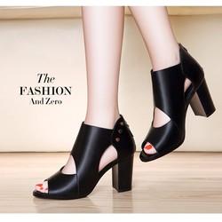 Giày Boots nữ cá tính