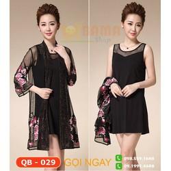 Đầm váy cao cấp mã QB030A