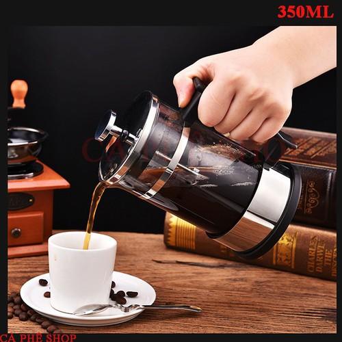 Bình pha trà cà phê French Press 350ml