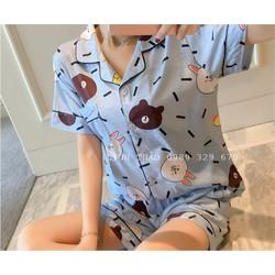 Bộ đồ mặc nhà cotton BN03