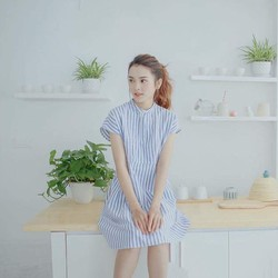 ĐẦM BUTTON DRESS