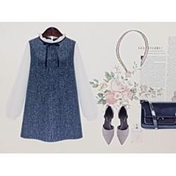 Đầm nữ phong cách cá tính, kiểu dáng trẻ trung.