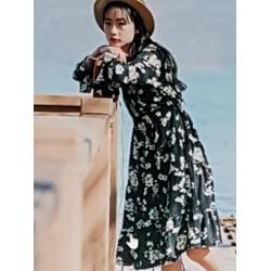 Đầm voan nữ thiết kế trẻ trung nữ tính.