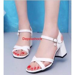 Giày sandal cao gót size 43