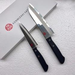 Dao làm bếp Nhật Bản Kenmizaki bộ 2 con, Made in Japan
