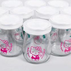 combo 10 hũ sữa chua thủy tinh - 0978.08.28.11
