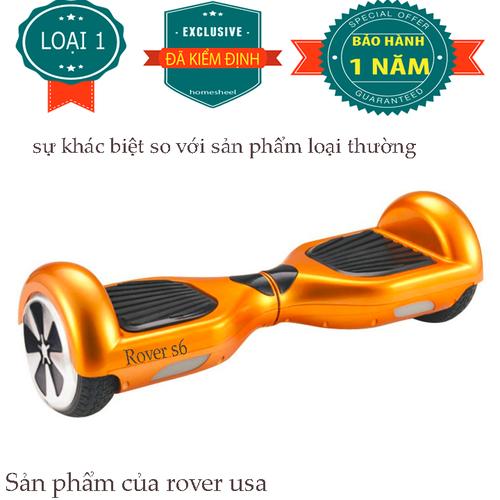 Xe điện cân bằng rover s6