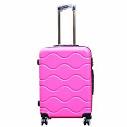 Vali kéo KOVI cao cấp đựng đồ - du lịch màu hồng 24 inch