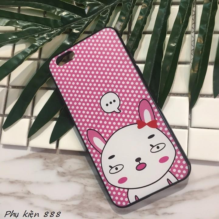 Ốp lưng Iphone 6,6s thỏ má hồng 7