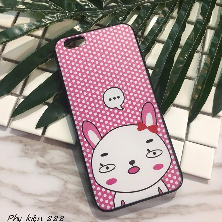 Ốp lưng Iphone 6,6s thỏ má hồng 3
