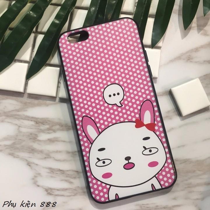 Ốp lưng Iphone 6,6s thỏ má hồng 5