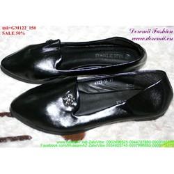 giày mọi da nữ đơn giản sành điệu